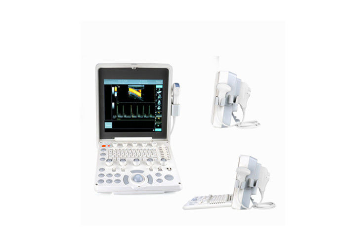 3D Optional Portable Cardiac Color Doppler Ultrasound Machine Detect With 12.1 Inch LED Screen