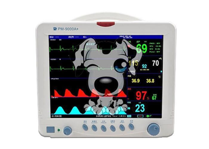 5 Parameter Patient Monitor Pet Use Multi Parameter Monitoring System for Vet Animal Patient Monitoring Devices