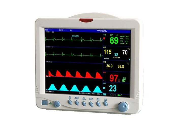 Digital Vital Signs Monitor Patient Care Monitor Hospital Patient Monitoring Equipment With 5 Para Patient Monitor
