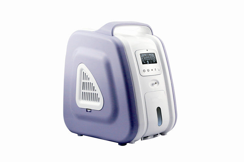 Mini Oxygen Concentrator Humidifier Portable Oxygen Supply 90~210W Power 93% Concentration