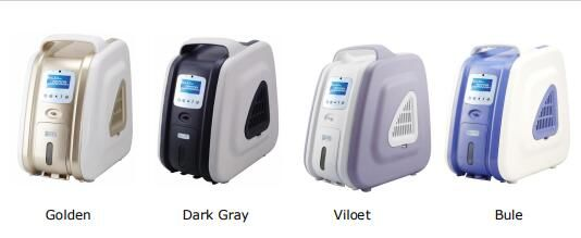 Portable Oxygen Concentrator 1~3L / Min 30%~93% Concentraion For Medical Or Home Use 4 Colors Offered